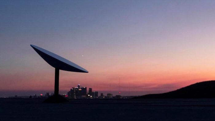 Antena da Starlink (Imagem: divulgação/SpaceX)