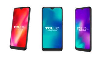 TCL lança celulares L10 Lite, L10+ e L10 Pro no Brasil e anuncia loja online