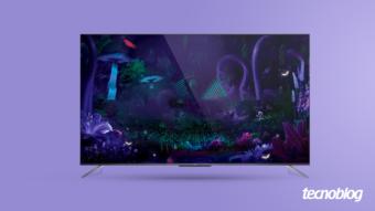 TV QLED TCL C715: Android TV com pontos quânticos