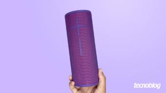 Caixa de som Bluetooth Ultimate Ears Megaboom 3: resistência e muito som