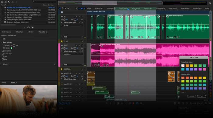 Adobe Audition / Divulgação / Adobe