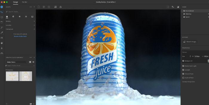 Adobe Dimension / Divulgação / Adobe