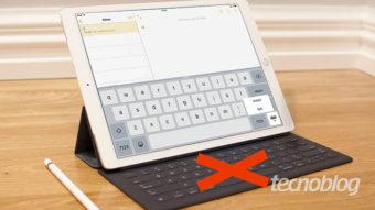 Como ajustar o teclado do iPad [Dividido ou Flutuante]