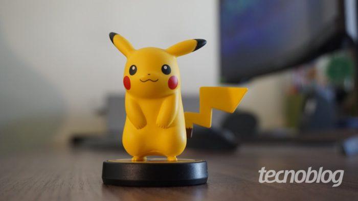 Amiibo do Pikachu (Imagem: André Fogaça/Tecnoblog)