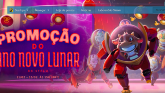 Promoção de Ano Novo Lunar do Steam tem centenas de descontos