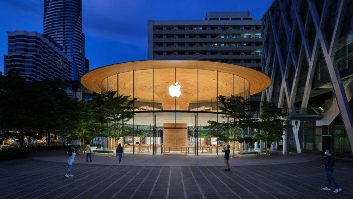 Apple Central World, Tailândia (imagem: divulgação/Apple)