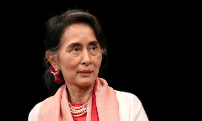Aung San Suu Kyi foi detida após golpe em Myanmar (Imagem: Bria Webb/RTP/Agência Brasil)