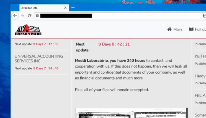Avaddon diz que Meddi tem 240 horas para cooperar (Imagem: Reprodução)