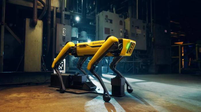 Cão-robô Spot da Boston Dynamics