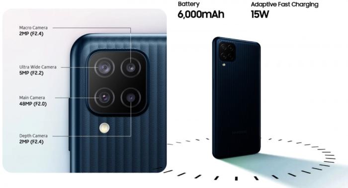 Câmera do Galaxy M12