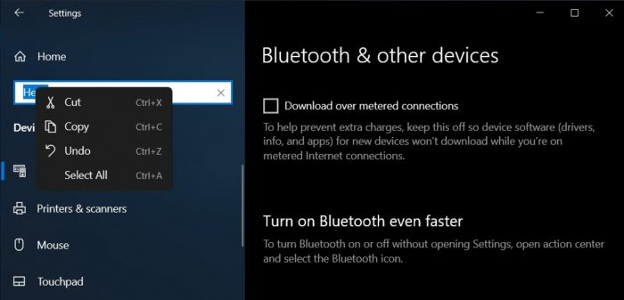 Itens do Windows 10 21H2 podem receber cantos arredondados (imagem: reprodução/Windows Latest)
