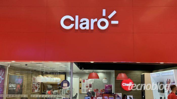 Loja da Claro em São Paulo (Imagem: Felipe Ventura / Tecnoblog)