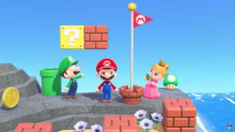 Animal Crossing recebe itens temáticos de Super Mario
