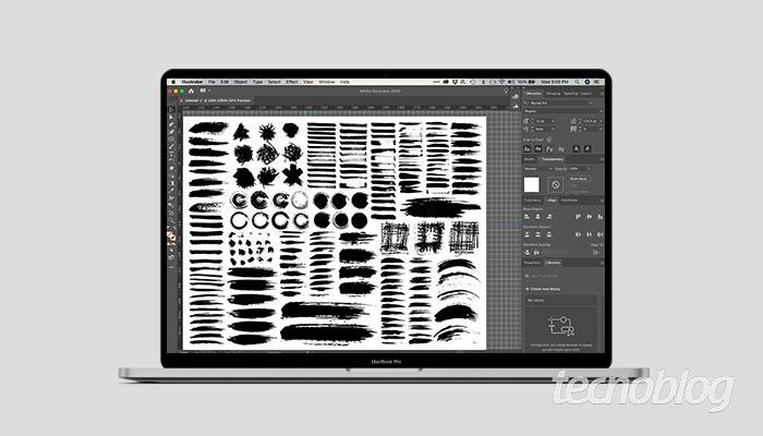 Como instalar brushes no Illustrator