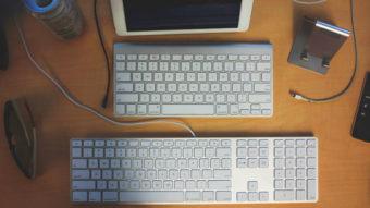 Como remapear teclas do teclado do iPad