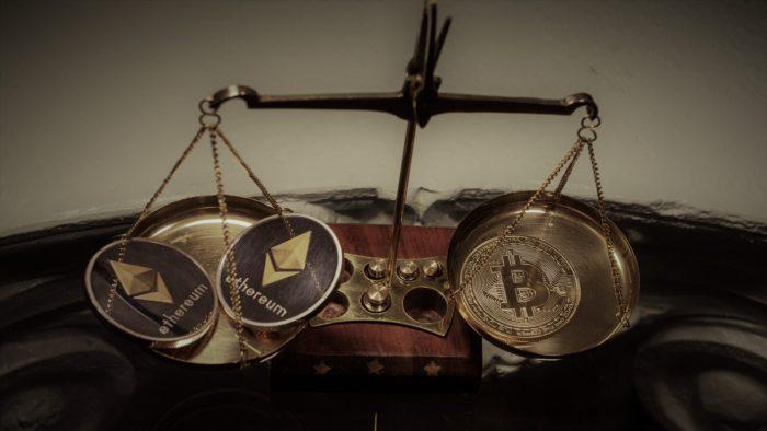 Ether surpasses bitcoin appreciation (Image: WorldSpectrum / Pixabay)