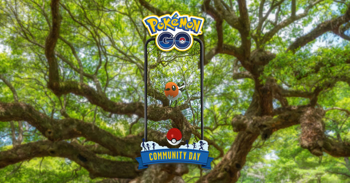 Dia Comunitário de março em Pokémon Go tem Fletchling (Imagem: Divulgação/Niantic)