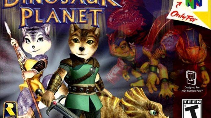 Dinosaur Planet, de NIntendo 64, vaza na web (Imagem: Reprodução)