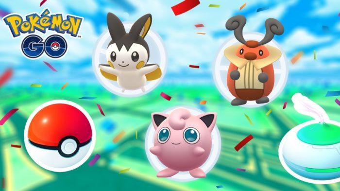 Evento de Carnaval em Pokémon GO (Imagem: Divulgação/Pokémon GO)