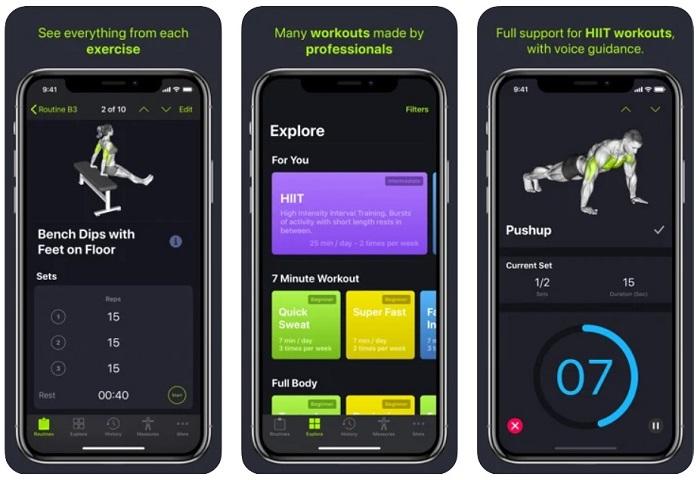 5 aplicativos para fazer exercício físico em casa / SmartGym: com Treinos em casa /Reprodução