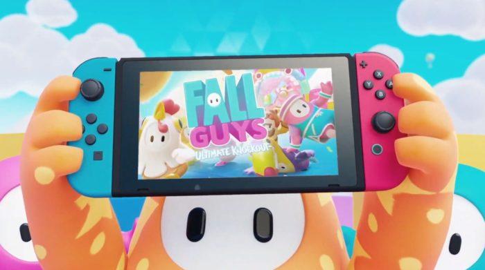 Fall Guys chega ao Switch (Imagem: Divulgação/Nintendo)