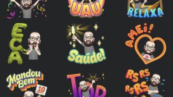 Avatar do Facebook ganha novas figurinhas pensadas para usuários no Brasil