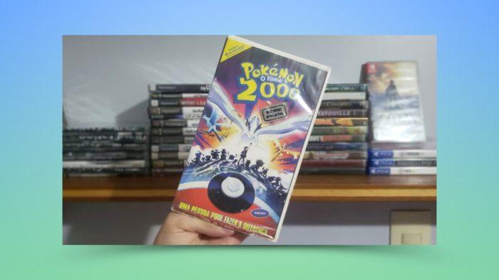 Cassete de Pokémon O Filme: 2000 (Imagem: Guilherme Nazatto/Arquivo pessoal)