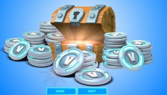 Fortnite pode dar V-Bucks de graça para alguns jogadores (Imagem: Reprodução)