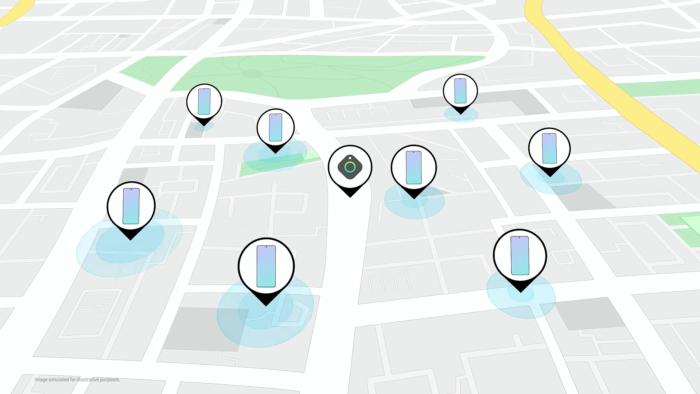 Galaxy Find Network ajuda encontrar SmartTags mais distantes (Imagem: Divulgação/Samsung)