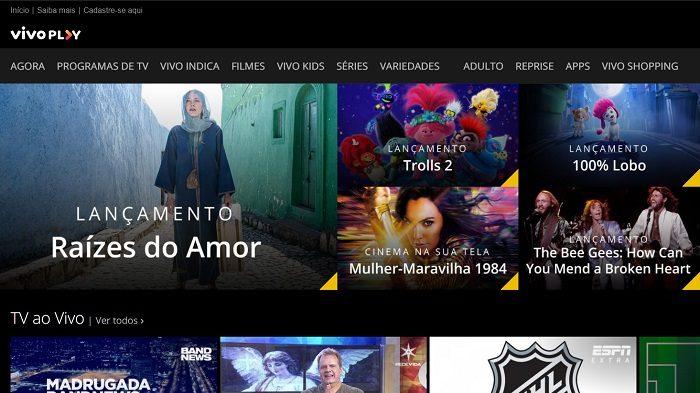 Como assistir ao Globo de Ouro 2021 [TNT GO, DirecTV Go e mais] / Vivo Play / Reprodução