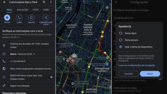 Google Maps ganha modo escuro no Android após longa espera