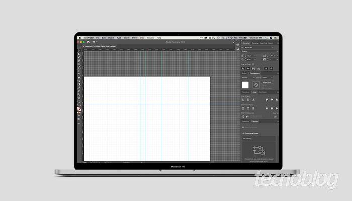 Como criar grades, réguas e guias no Illustrator