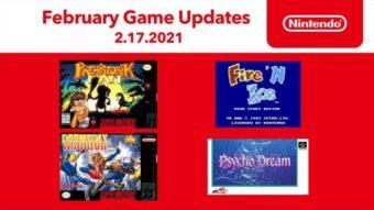 Nintendo Switch Online de fevereiro tem 4 jogos para SNES e NES