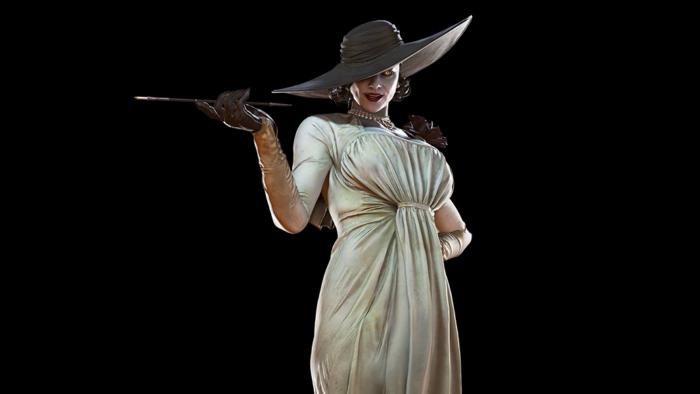 Lady Dimitrescu é a vilã de Resident Evil Village (Imagem: Divulgação/Capcom)