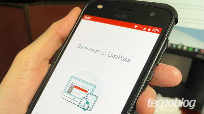 LastPass para Android (Imagem: Emerson Alecrim/Tecnoblog)