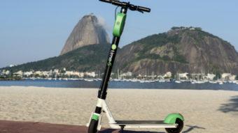 Uber oferece aluguel de patinetes da Lime no Rio de Janeiro