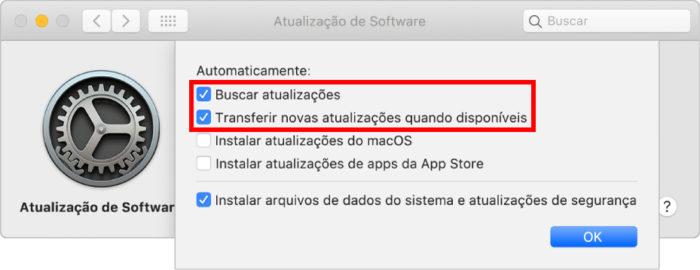 Procedimento para desligar downloads automáticos no Mac (Imagem: Divulgação/Apple)