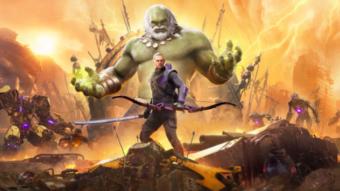 Marvel's Avengers tenta atrair jogadores ao adicionar Gavião Arqueiro