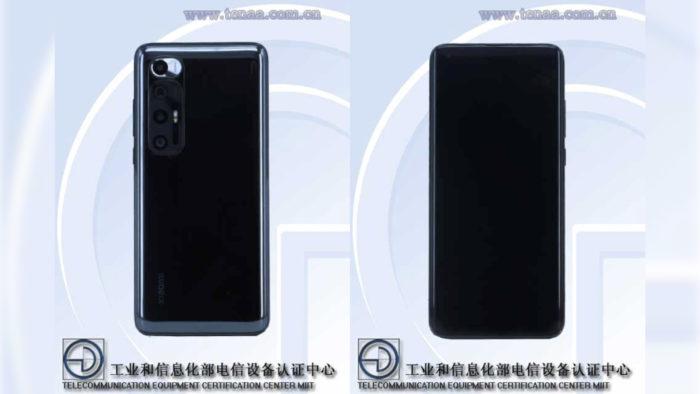 Possível Xiaomi Mi 10 5G (Imagem: Reprodução/TENAA)