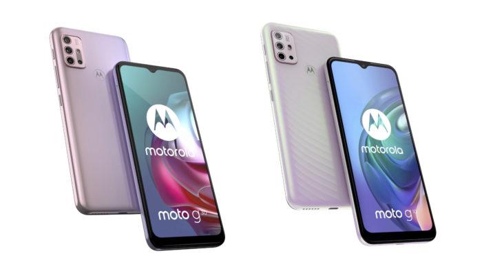 Motorola Moto G10 e Moto G30 (Imagem: Divulgação/Motorola)