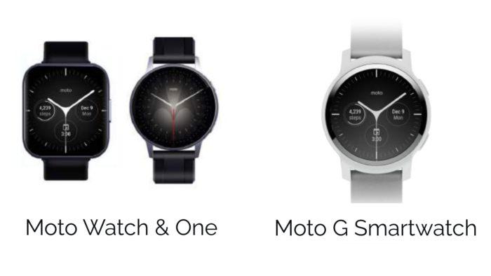 Moto Watch, Moto One e Moto G Smartwatch (Imagem: Reprodução / CE Brands)