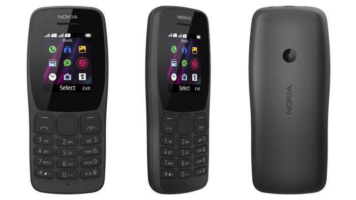 Nokia 110 (Imagem: Divulgação/HMD Global)