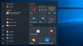 Windows 10 deve ganhar cantos arredondados e menu Iniciar flutuante