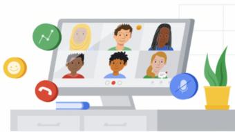 Google Meet vai ganhar transcrição de áudio e reações com emoji