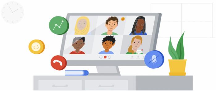 Novos recursos chegam ao Google Meet (Imagem: divulgação/Google)