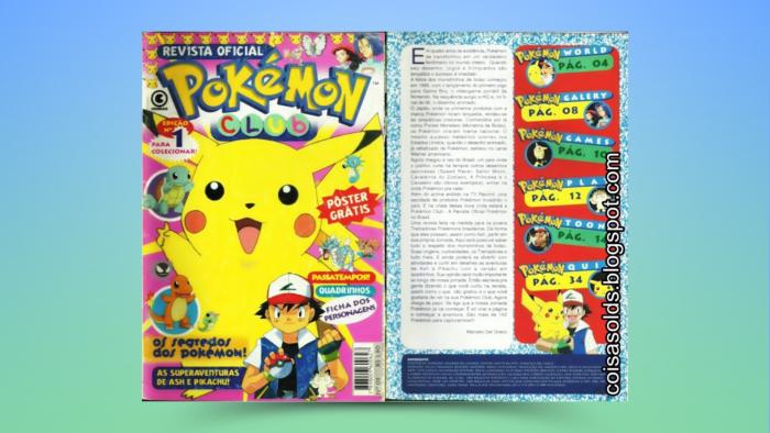 Primeira Pokémon Club (Imagem: Reprodução/Editora Conrad)