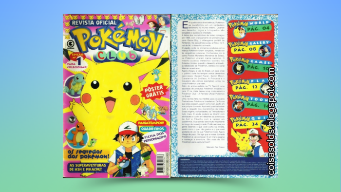 First Pokémon Club (Image: Reproduction / Editora Conrad)
