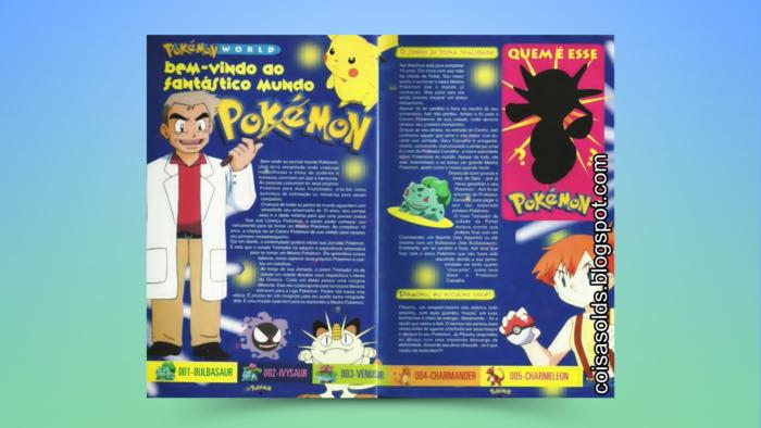 Introdução ao mundo Pokémon na revista Pokémon Club (Imagem: Reprodução/Editora Conrad)