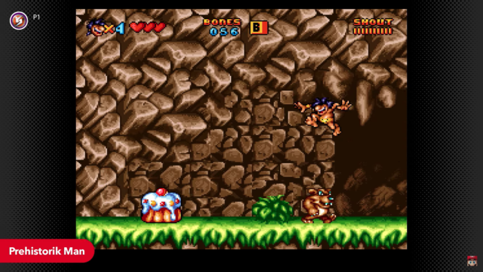 Prehistorik Man chega em fevereiro ao Nintendo Switch Online (Imagem: Divulgação/Nintendo)