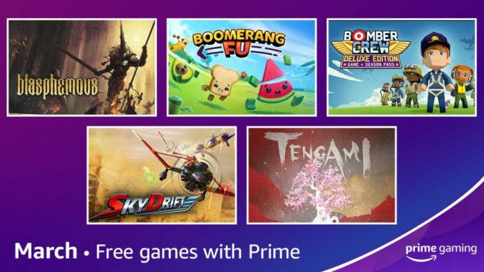Prime gaming de março / Divulgação / Amazon